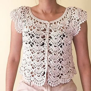 laexisCrochets Cropped Cardigan