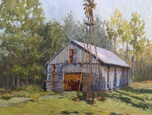 tobacco barns in the fall - Google Search | Old farm ...