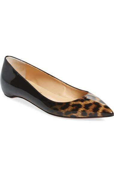 98a07bdd05a Christian Louboutin  Pigalle Follies  Pointy Toe Flat available at   Nordstrom