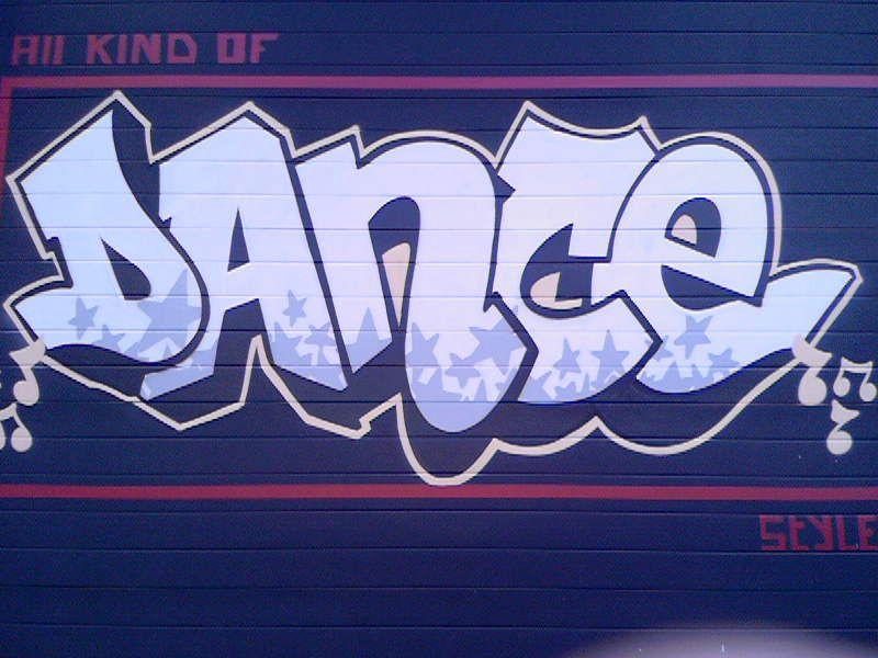 Graffiti Words Dance By Swok In Assen Photo By Serena Oosterloo