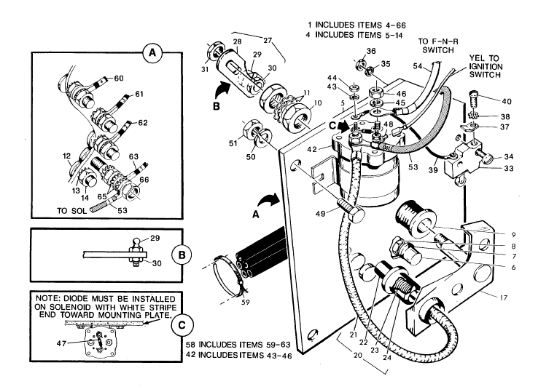 ezgo solenoid wiring diagram 36 volt basic ezgo electric golf cart wiring and manuals | cart ... ezgo solenoid wiring diagram #5