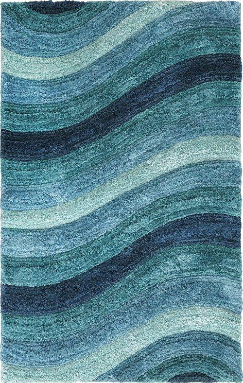 Blue · Blue Wave Rug ...