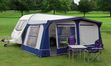 pyramid tuscany full caravan awning blue size 900 Sell one ...