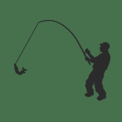 Fishing Fish Fisherman Transparent Png Svg Vector Fish Silhouette Fishing Svg Fishing Decals