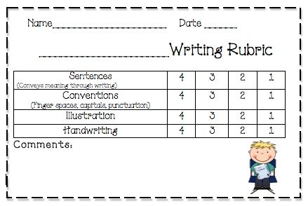 17 Best images about K rubrics on Pinterest | Coloring, Reading ...