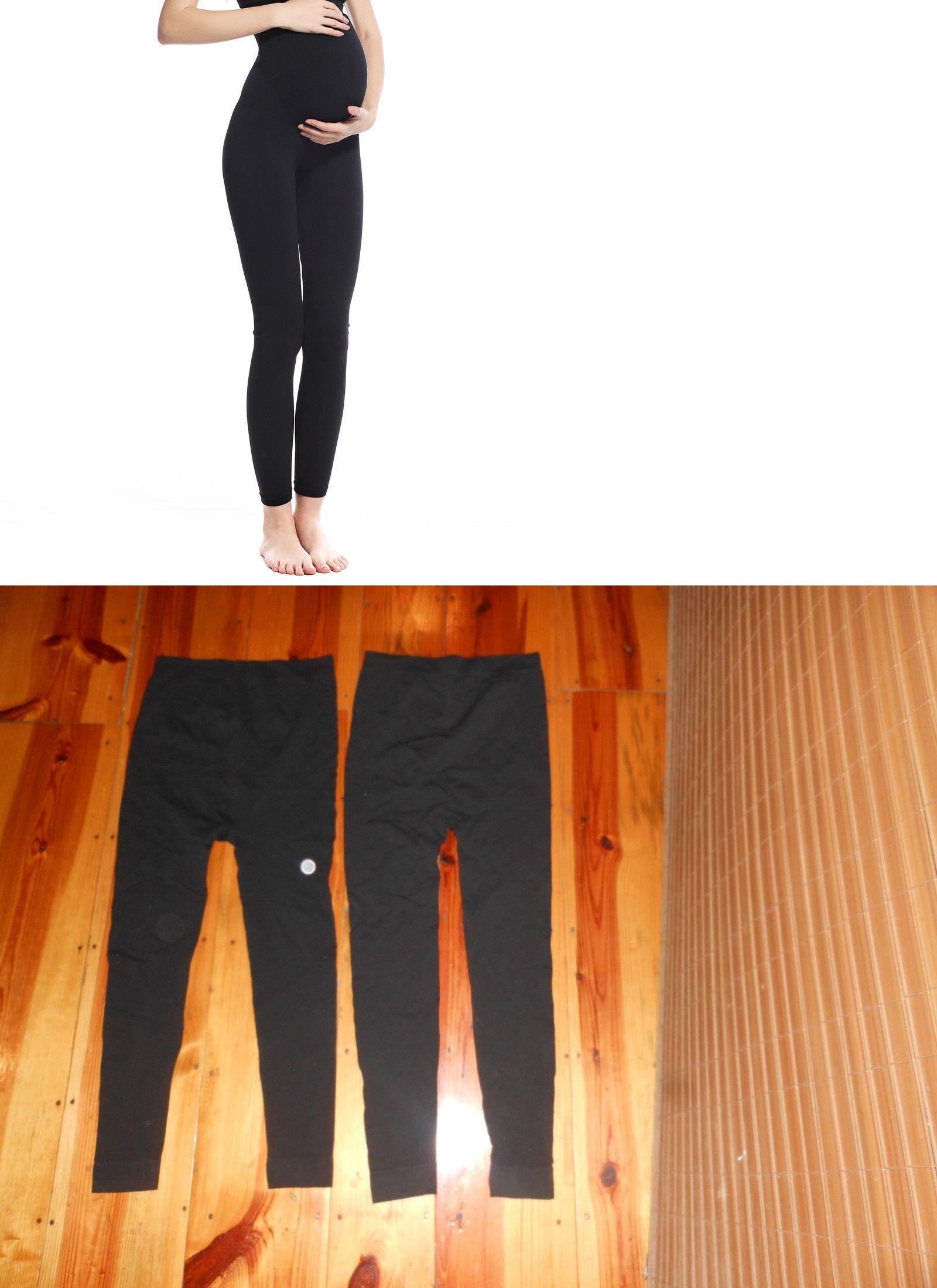 f580eee9ea813 Leggings 46809: 2 Pr Isabel Seamless Over The Belly Maternity Full Length  Legging L Xl(Black -> BUY IT NOW ONLY: $16.99 on #eBay #leggings #isabel  #seamless ...