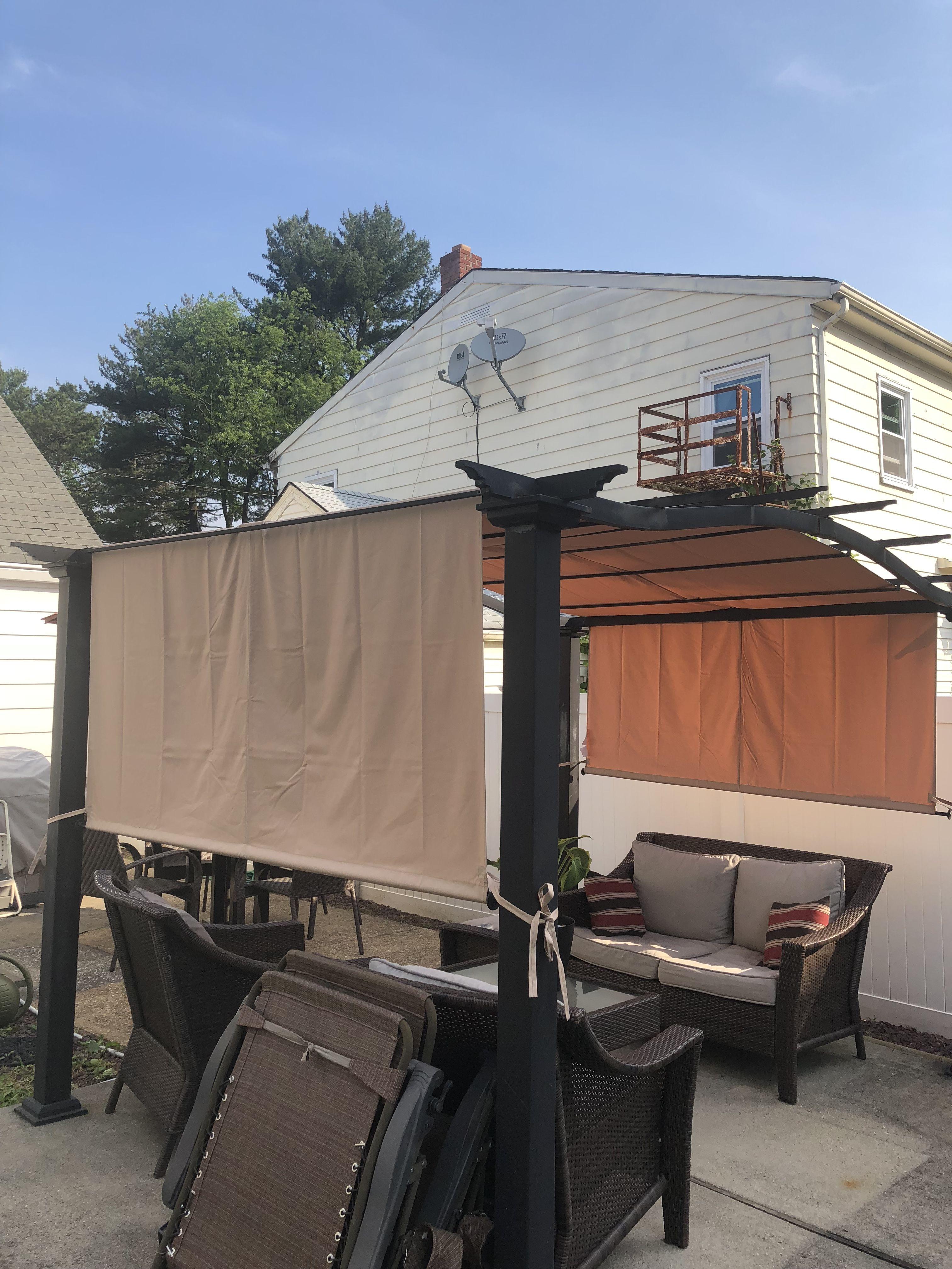 Universal Designer Replacement Pergola Shade Canopy And Cover Garden Winds Pergola Shade Shade Canopy Building A Pergola