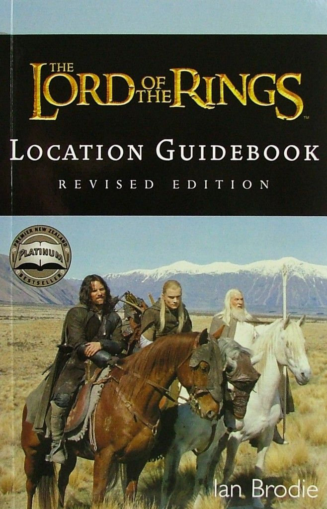 The lord of the rings location guidebook: ian brodie, peter.