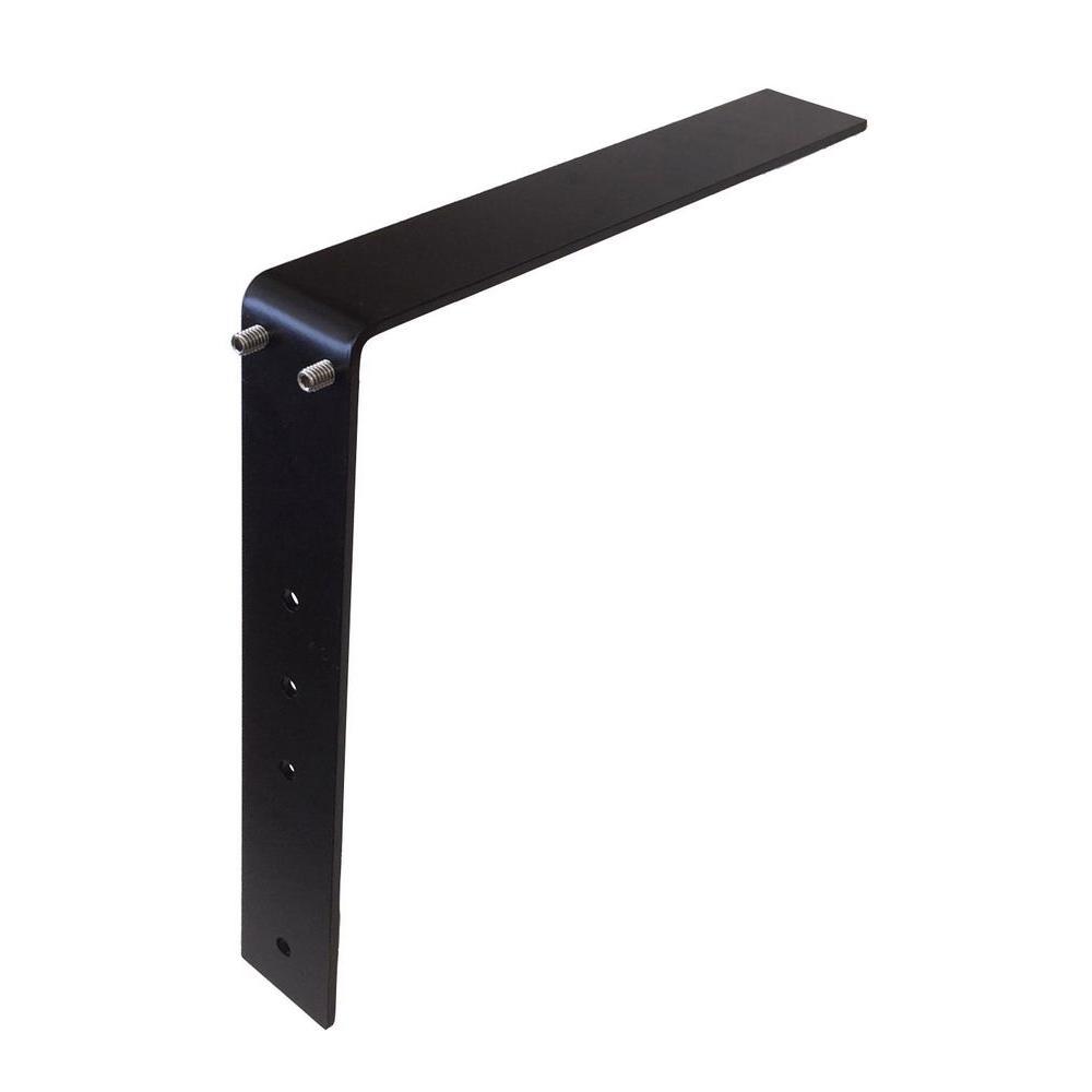 Hampton Bay Low Profile Adjustable Bracket 12 In Steel Countertop