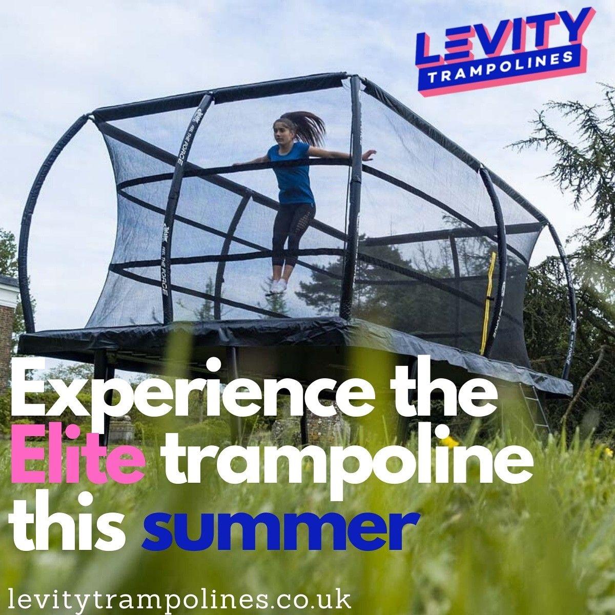 Telstar Elite Rectangle Trampoline in 2020 Trampolines