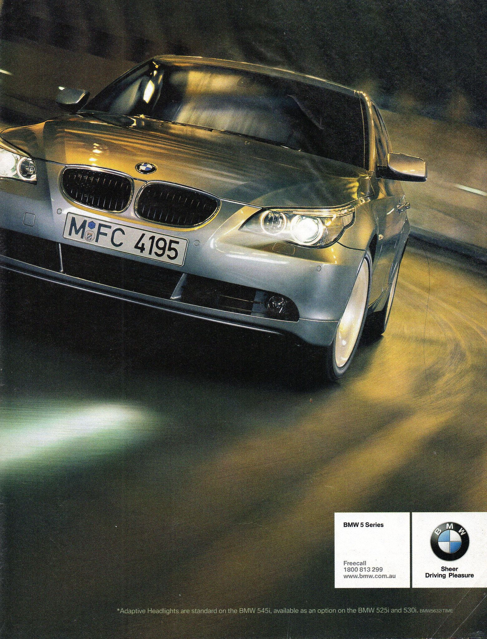 2004 BMW 5 Series Page 2 Aussie Original Magazine