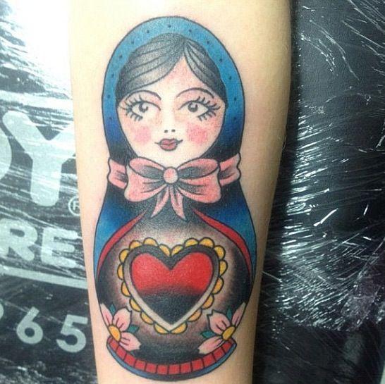 Pin By Christine Jarmer On Tats I Like: Nesting Doll #tattoo