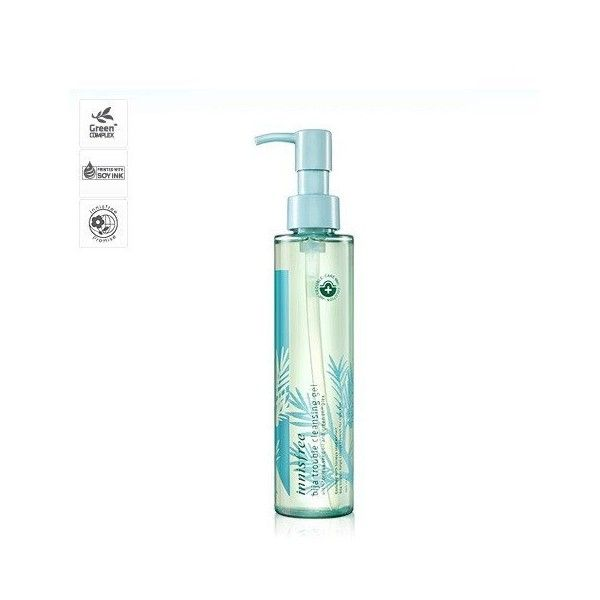 INNISFREE JEJU BIJA ANTI TROUBLE CLEANSING GEL (€12) ❤ liked on Polyvore featuring beauty products, skincare, face care, face cleansers and innisfree