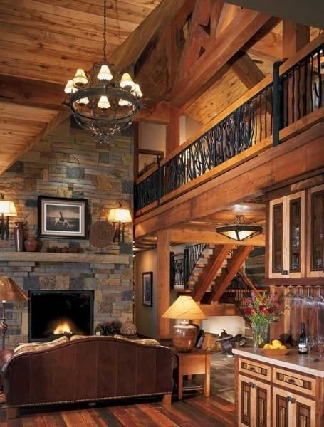 Beautiful Home Decor Ideas Just Imagine Daily Dose Of Creativity Log Homes Log Cabin Homes Home