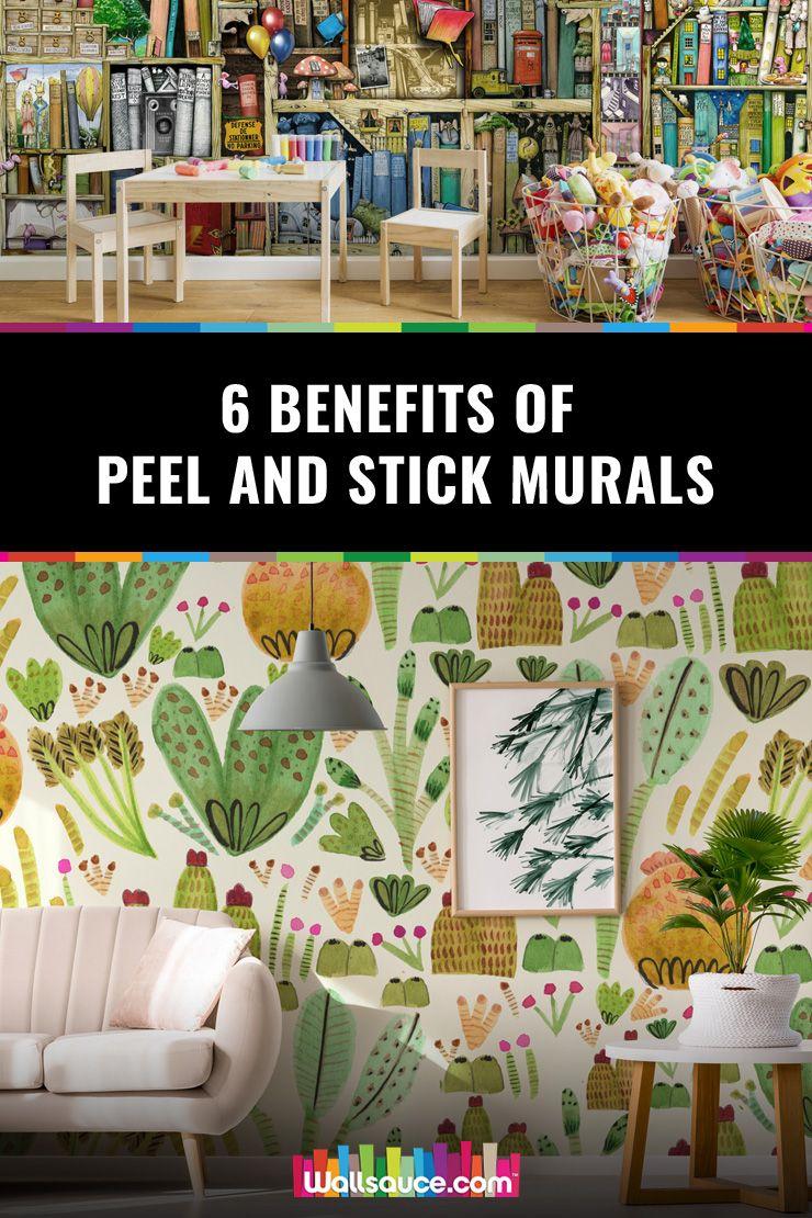 Six Benefits Of Peel And Stick Wall Murals Wallsauce Uk Wall Murals Traditional Wallpaper Mural