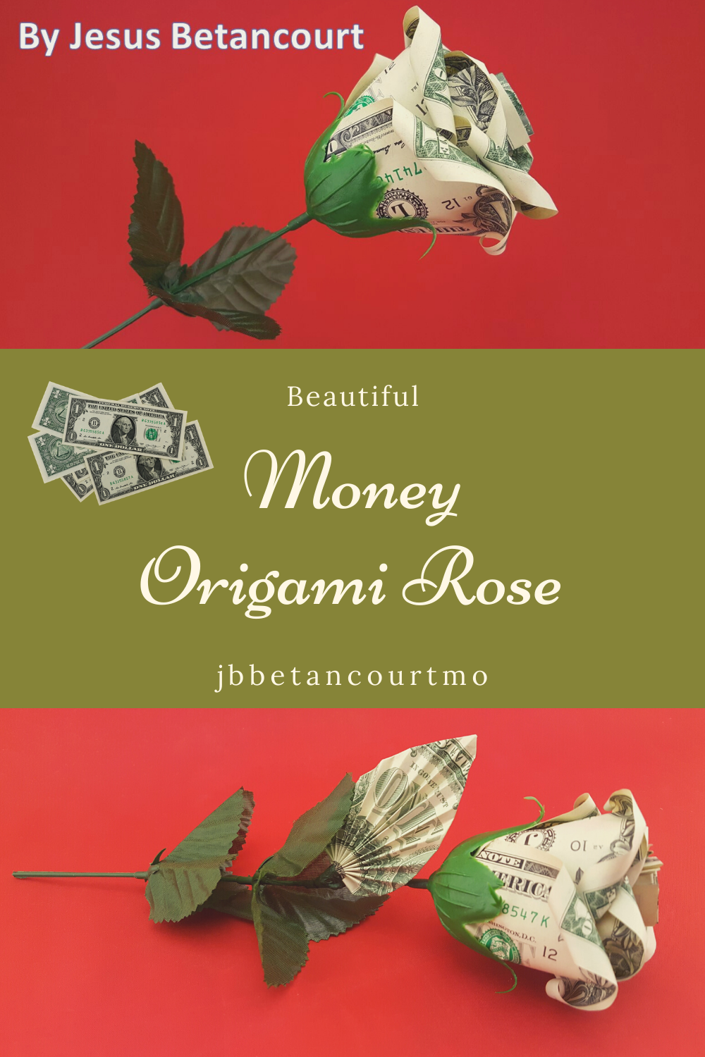 Money Origami, Flower Edition: 10 Different Ways to Fold a Dollar ... | 1500x1000