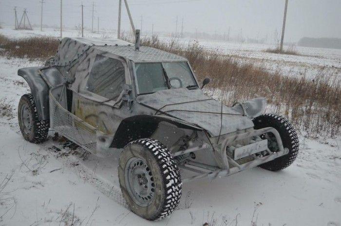 Ukrainian Military Homemade Buggy Pegasus | Dune Buggy Ideas ...