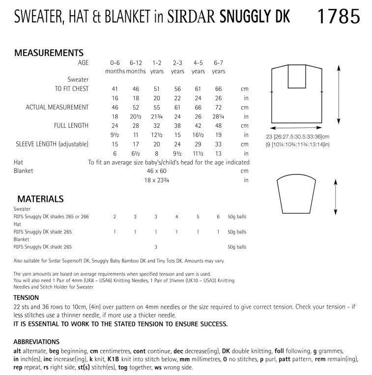 Sirdar1785.pdf-2data | Abrigos bebe | Pinterest | Abrigos bebe ...