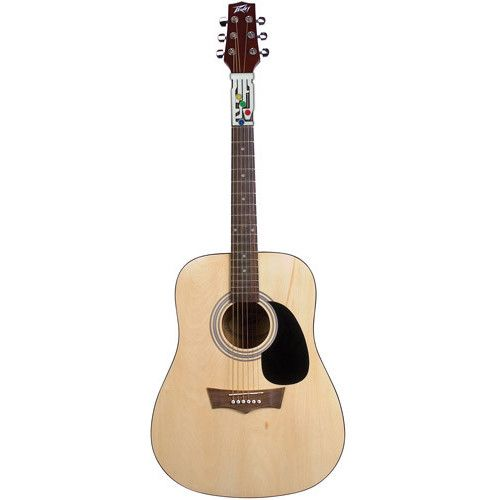 Peavey Acoustic Guitar with Chord Buddy featuring polyvore accessories other
