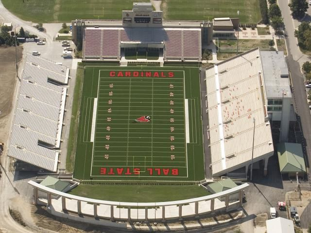 Football Signee Matthew Page To Play For Usa Ball State Sports Stadium Football Stadiums Arena Sport