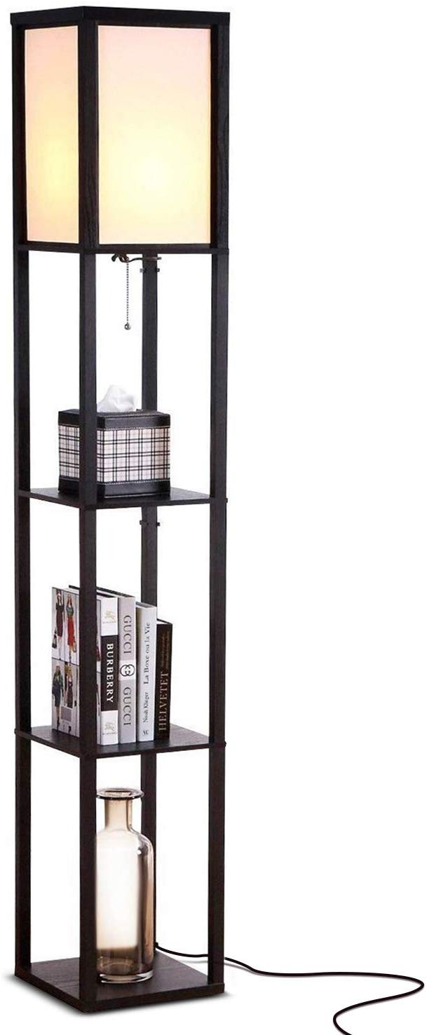Pin By Igor Gumenyuk On Osvitlennya Lyustri In 2020 Floor Lamp With Shelves Narrow Side Table Bedroom Night Stands