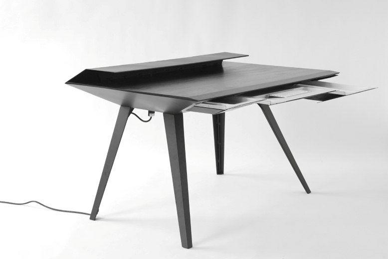 Nice DIVIDER, STORAGE // Desk 117   A Minimalist Work Desk With Smart Cable  Management Home Design Ideas