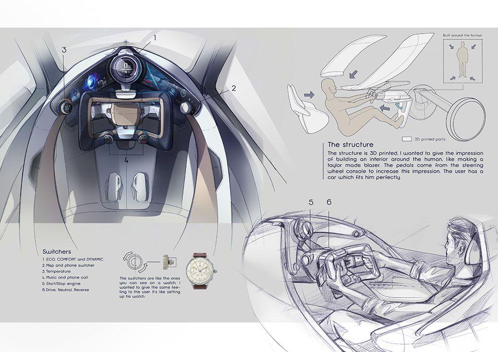 Strate School of Design Paris Laureat Festival Automobile car