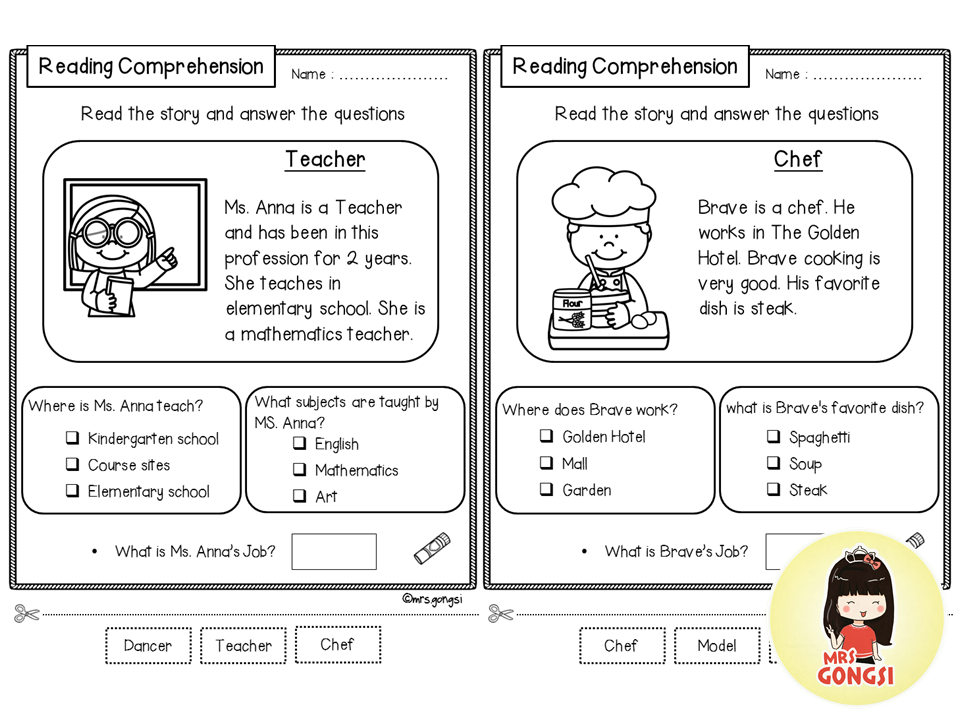 Reading Comprehension Reading Comprehension, Teaching Reading Strategies,  Reading Comprehension Worksheets