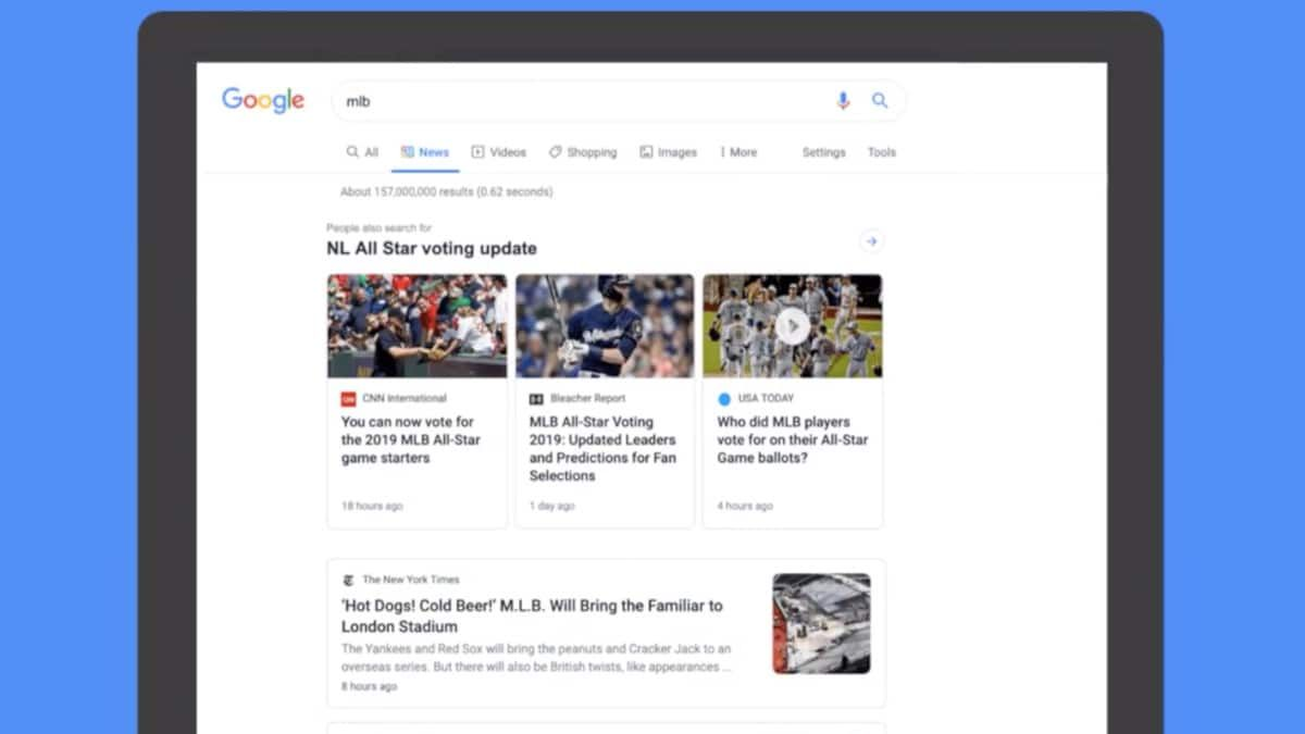 Google Unveils News Tab Redesign In Search On Desktop Internet