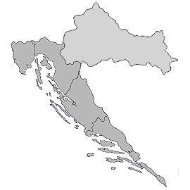 Istrien Karte Zum Ausdrucken.Karte Von Kroatien Travel Kroatien Karte Urlaub Und