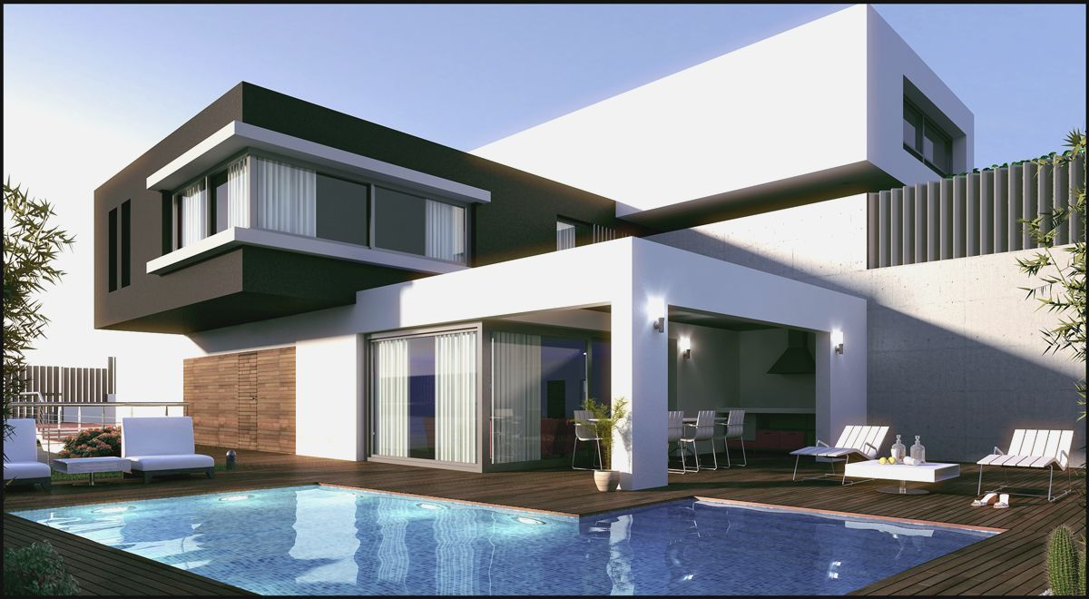 Wallpapers hd de casas modernas lugares para visitar for Casa moderna wallpaper