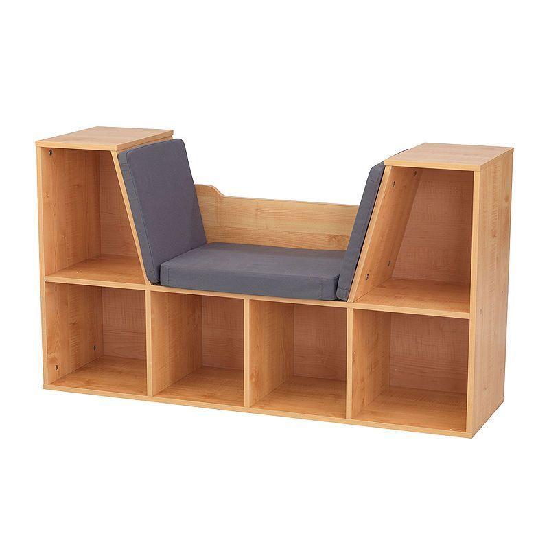 Kidkraft Bookcase With Reading Nook Detskie Knizhnye Polki Detskij Knizhnyj Shkaf Chitalnyj Ugolok