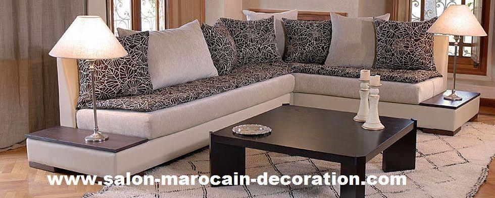 le choix de tissu pour habiller ces meubles est trs important pour donner une jolie dcoration lintrieur de votre salon marocain aujourdhui sur le - Model Salon Moderne Marocain