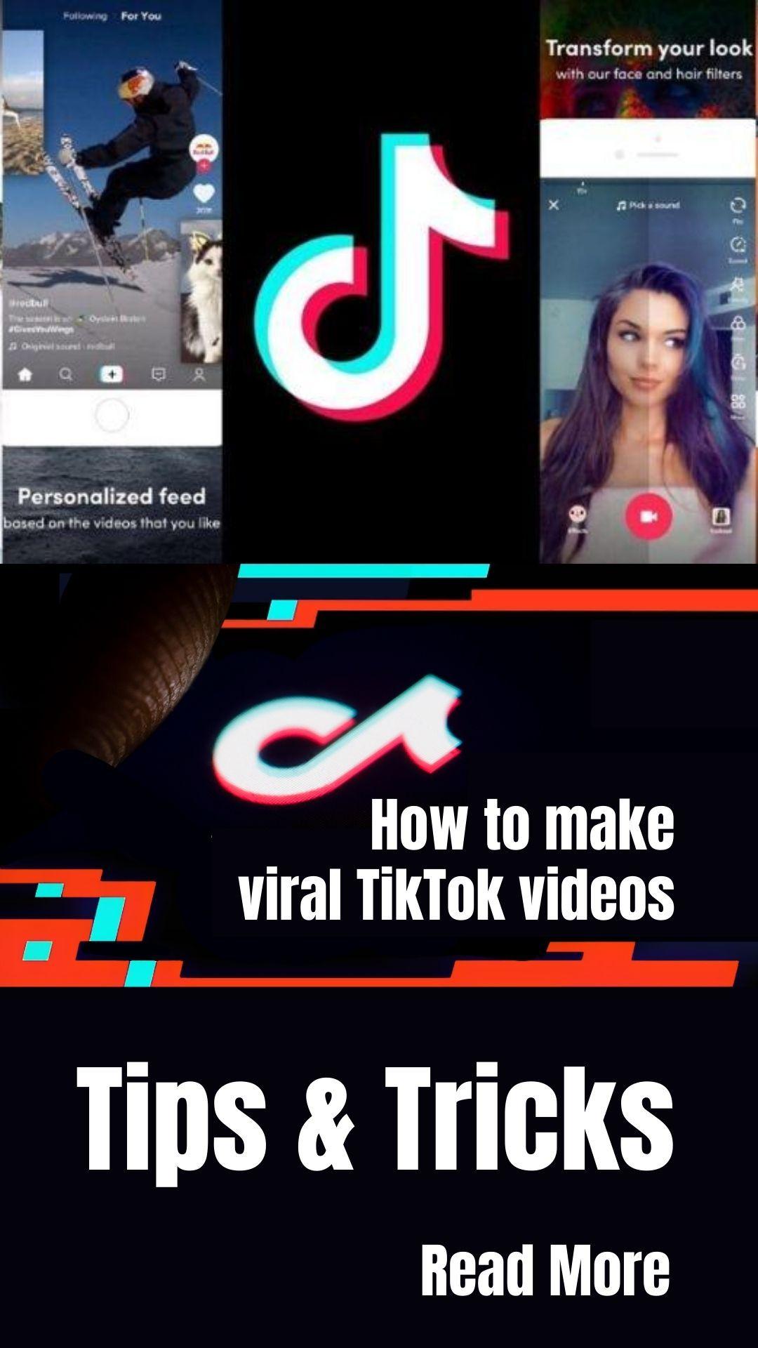 How To Make Viral Tiktok Videos Tips Tricks Viral Videos Tips