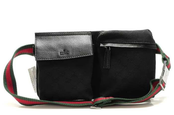 35f4da9992318 Gucci Waist Pack Black