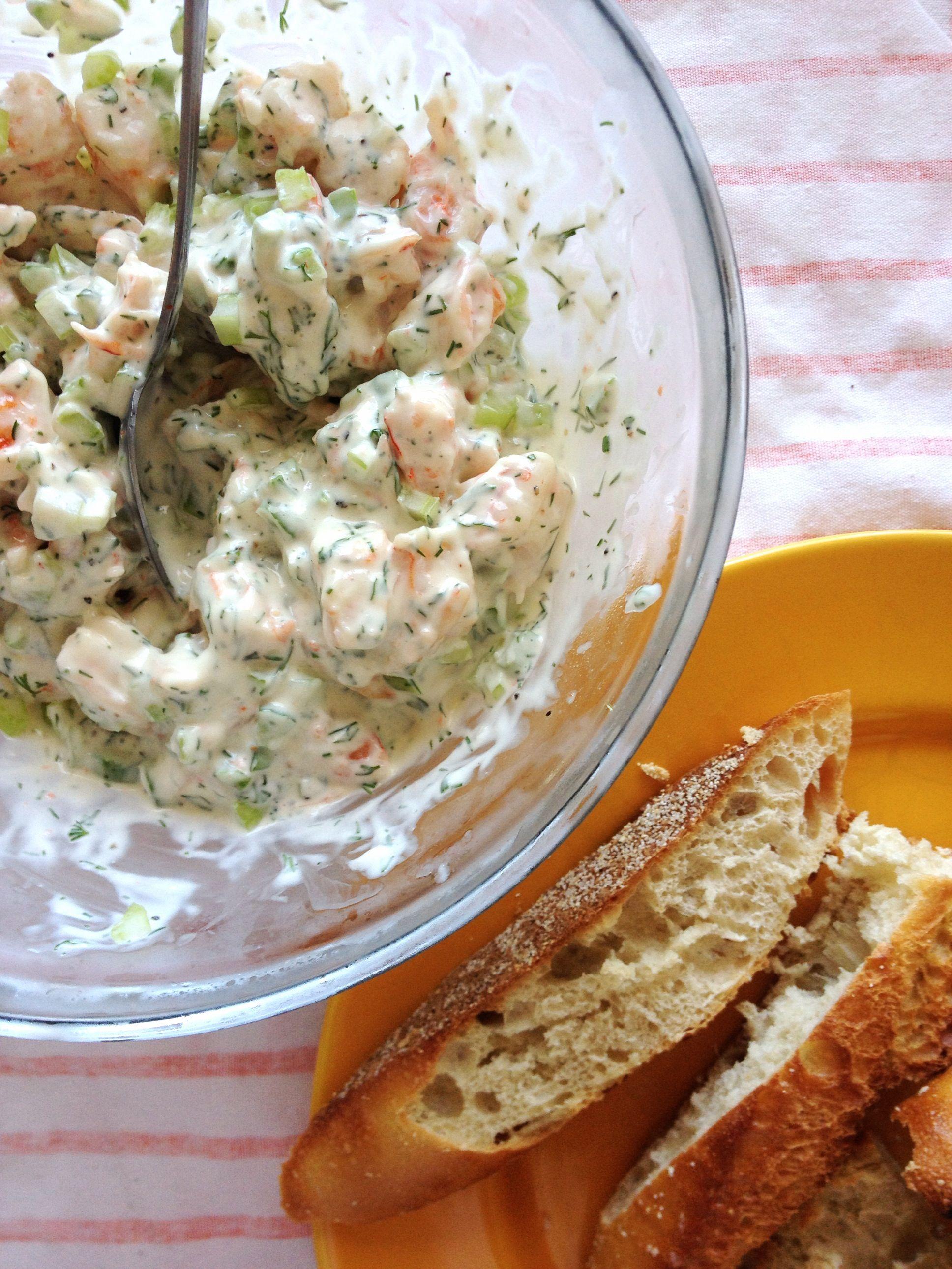 shrimp salad from ina gartens recipe httpmfoodnetwork - Ina Garten Shrimp Salad Recipe