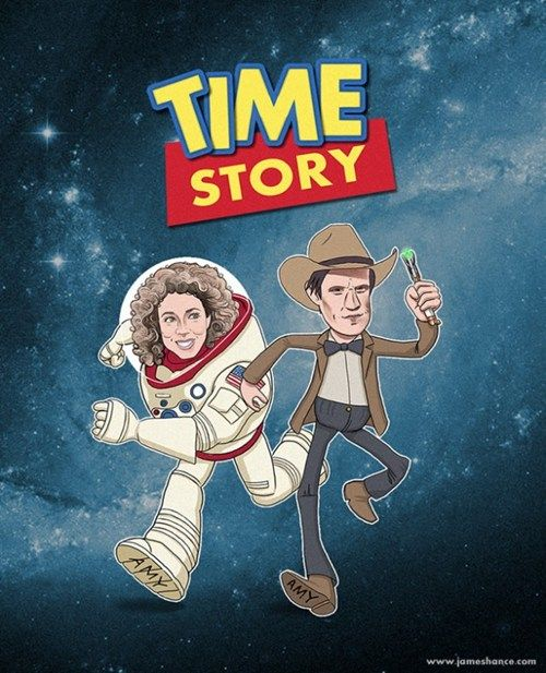 #Time Story #ToyStory  X #DrWho