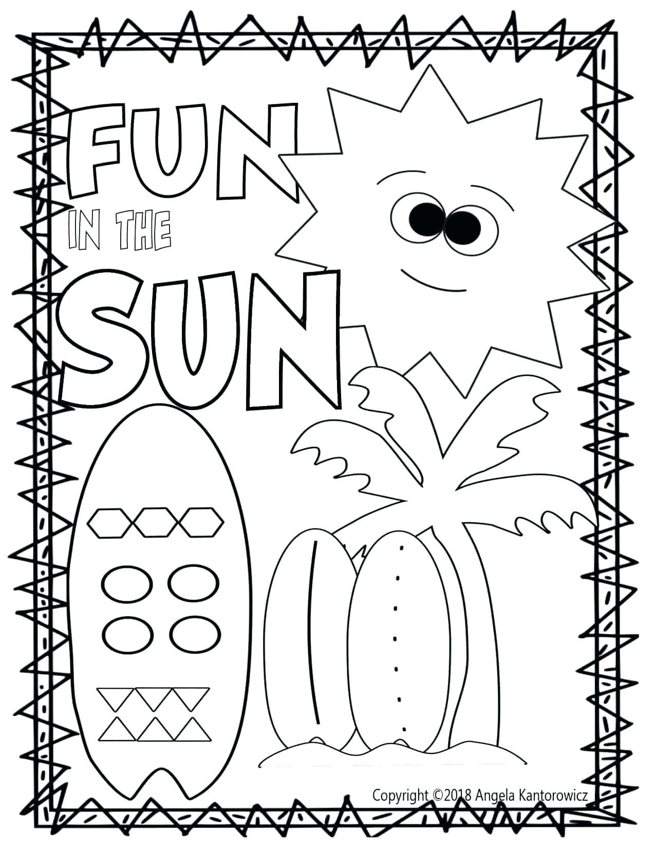 50 Kindergarten Math Printable Worksheets Images