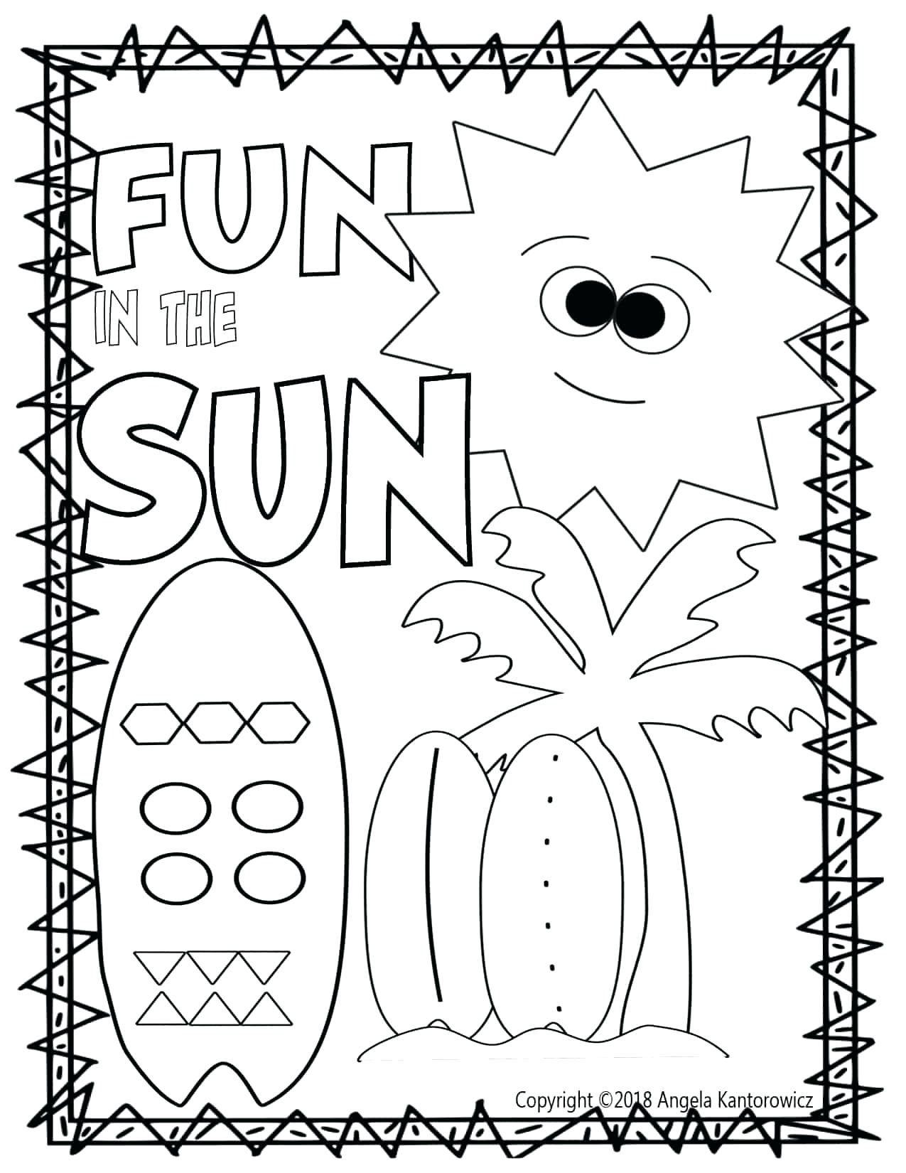 50 Kindergarten Math Printable Worksheets Images
