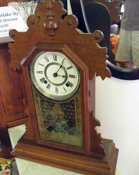 Antique Seth Thomas Mantle Clock Mantle Clock Clock Antiques