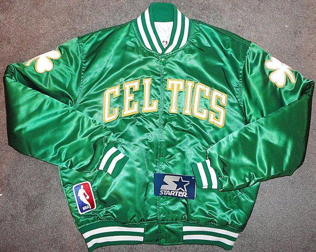 7153fb6f8 Boston Celtics Starter Jacket | Vintage Starter | Celtics jacket ...