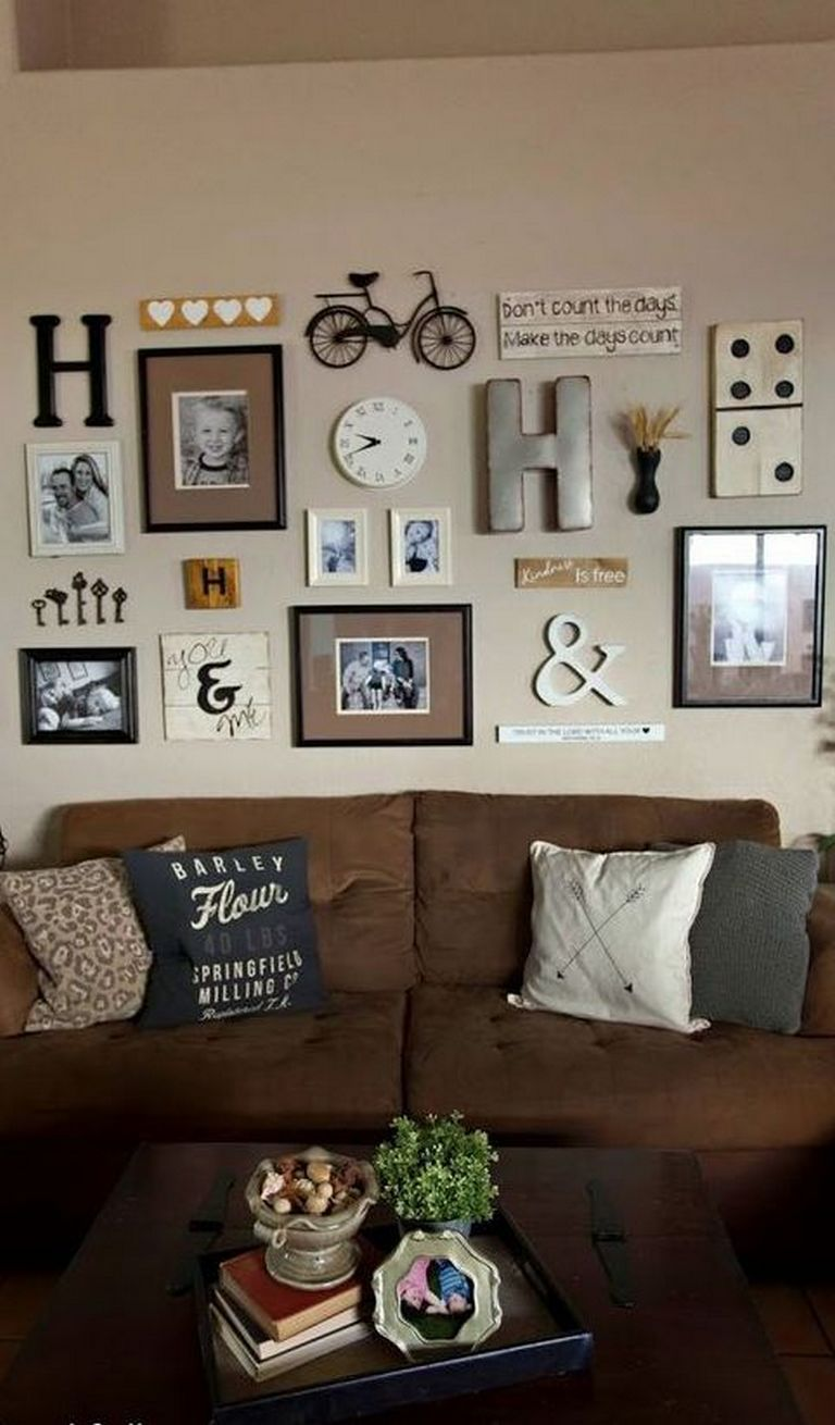 40+ Awesome Ideas for Creating Gallery Wall Home Decor