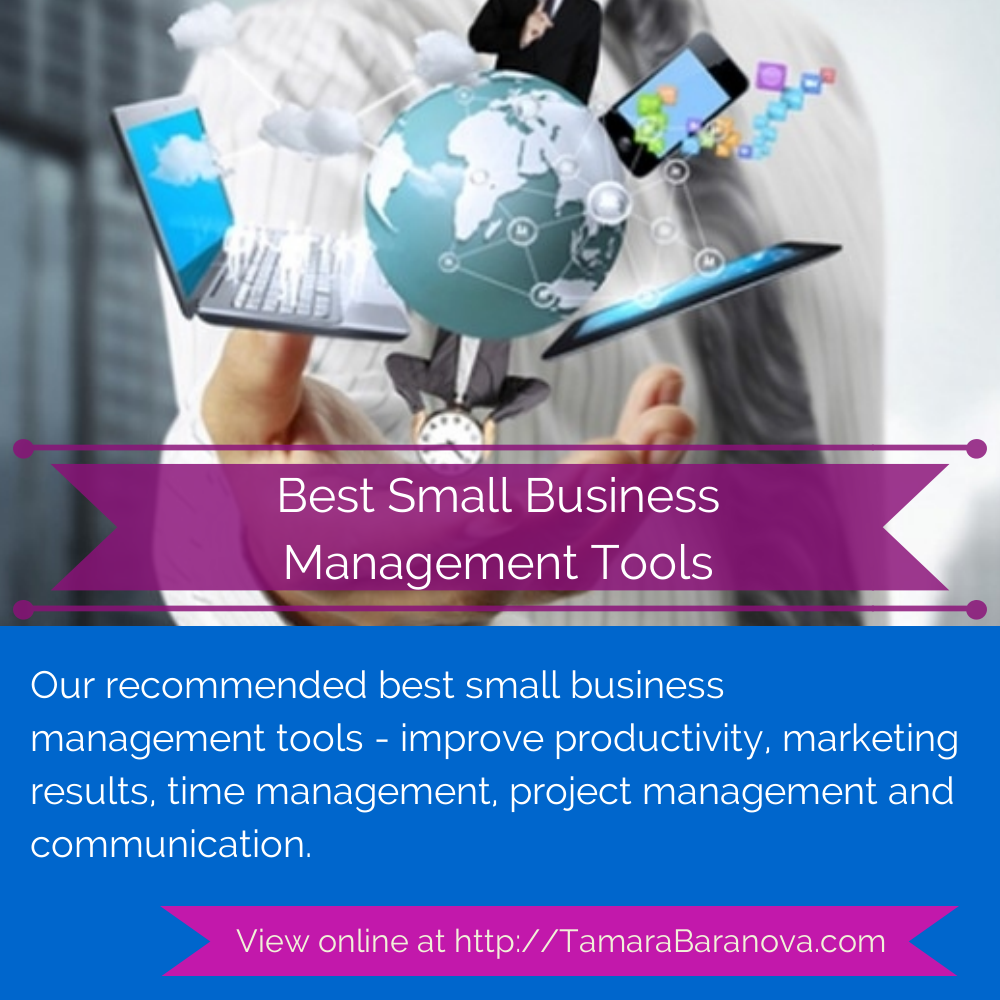 Our recommended best small business management tools - improve ...