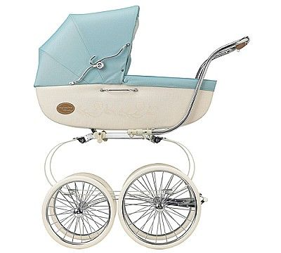 Inglesina Classica Pram With Diaper Bag Celeste - Inglesina Carriages f711296f26