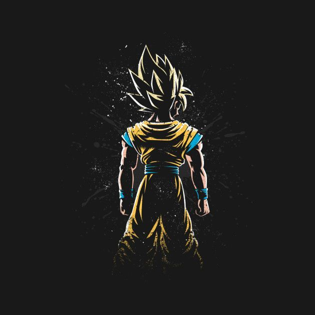dragon ball z wallpaper dark