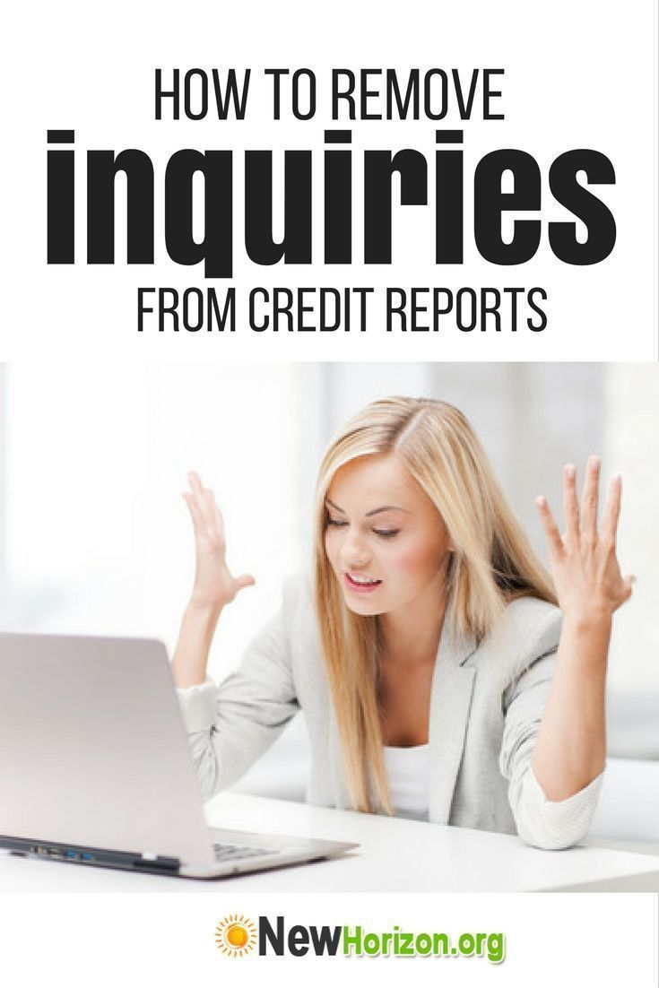 How to remove inquiries from credit reports credit