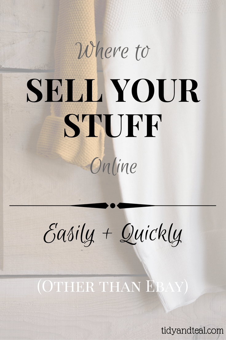 Where to Sell Your Stuff Online | Make Money | Personal Finance | Financial Tips | Side Hustles