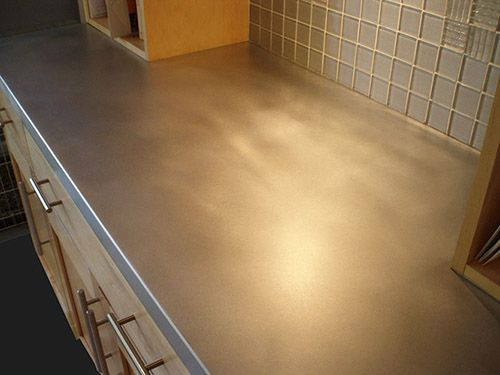 Photos Of Custom Zinc Countertops Zinc Countertops Countertops Table Top Design