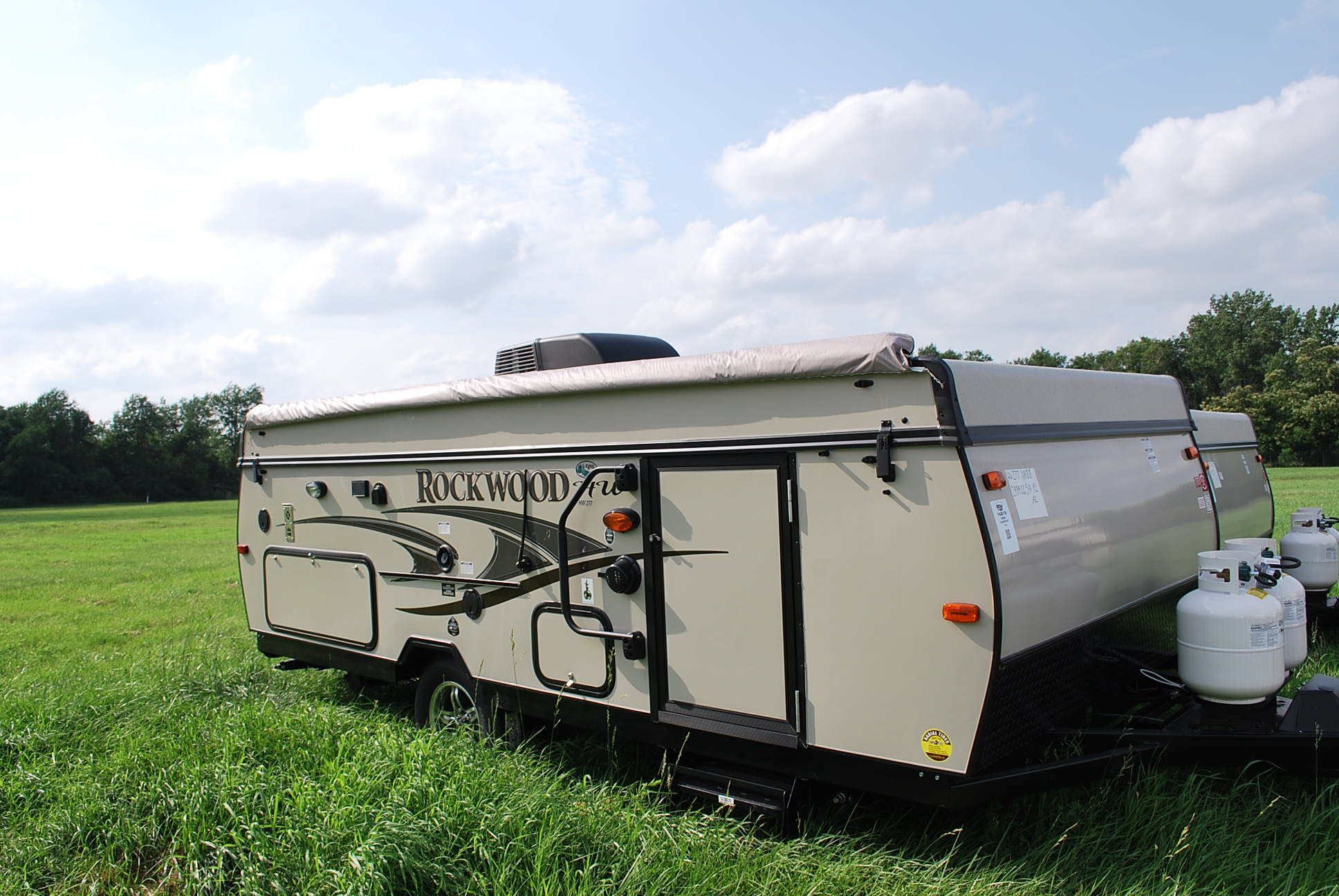 The 2014 Rockwood HW277 is the ultimate couple's camper  The