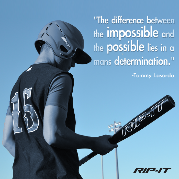 Another inspiring quote that will motivate softball and